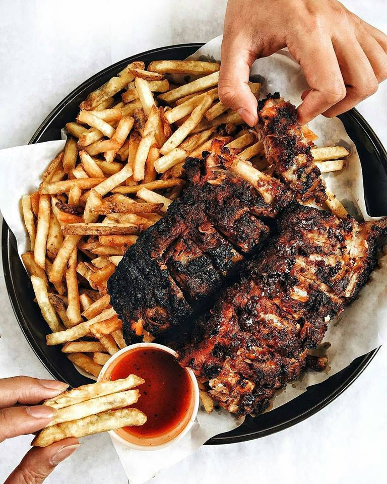 bbq, food, and foodie image