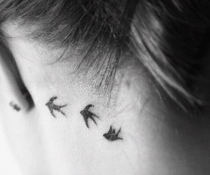 ink, cute, and inked image