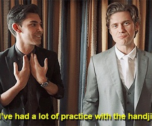 aaron tveit and grease live image
