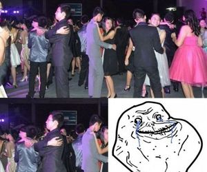 funny, Prom, and forever alone image