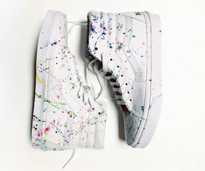colors, shoes, and vans image