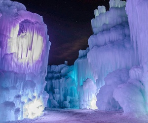 ice, beautiful, and nature image