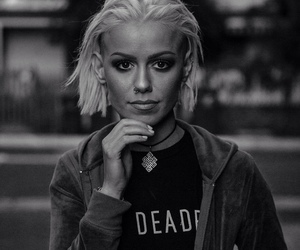 black and white, tonight alive, and jenna mcdougall image