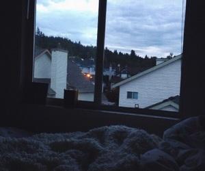 grunge, sky, and room image