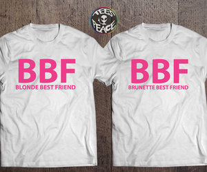 etsy, blonde best friend, and bff shirts image