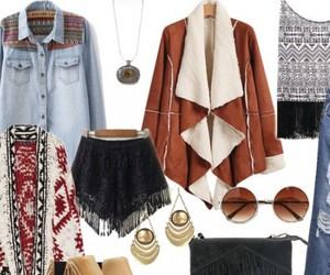 boho, chic, and fashion image