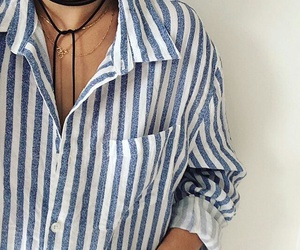 outfit and striped blouse image