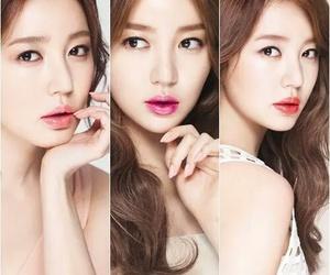 lips, yoon eun hye, and make up image