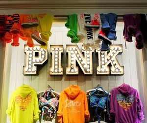 pink, fashion, and Victoria's Secret image