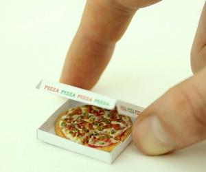 pizza, mini, and food image