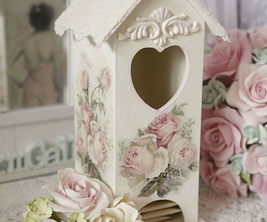 shabby chic, vintage, and roses image