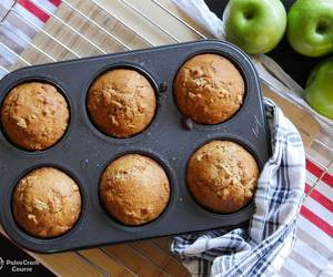 apple, healthy, and muffins image