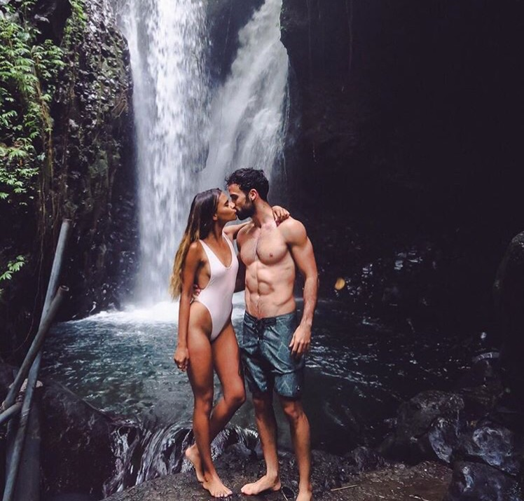 cool, kiss, and nature image