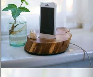 diy, iphone, and wood image