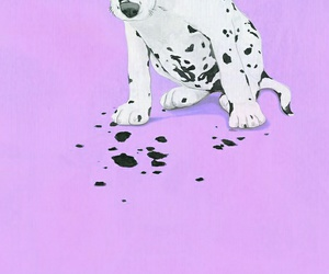 dog, girly, and wallpaper image