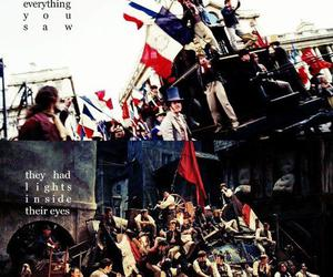 barricade, les miserables, and combeferre image