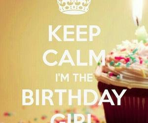 birthday, birthday girl, and cupcake image