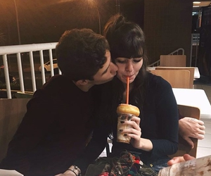 couple, love, and alternative image