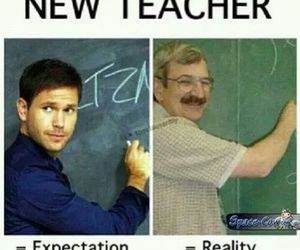 teacher, funny, and tvd image