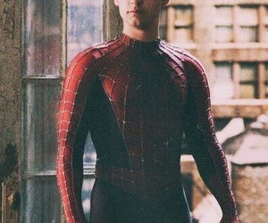 spiderman, Tobey Maguire, and peter parker image