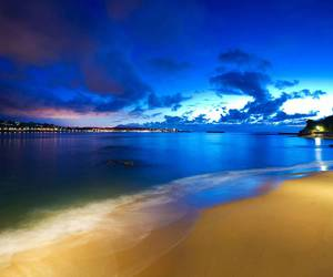 scenery and blue image