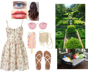 clothes, dress, and english garden image
