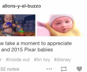 inside out, pixar, and riley image
