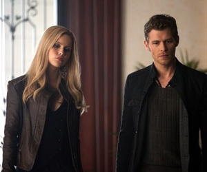 the vampire diaries, claire holt, and klaus image