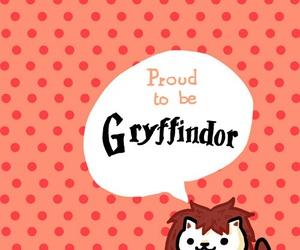 gryffindor, harry potter, and lion image