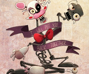 mangle, fnaf, and five nights at freddy's image