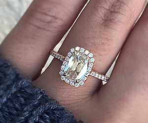 jewelry, weddings, and engagement ring image