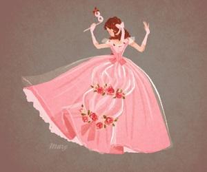 pink and christine daae image