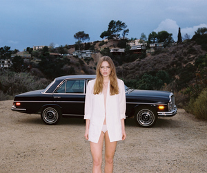 70s, classic car, and fashion image