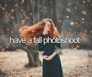 autumn, fall, and photoshoot image