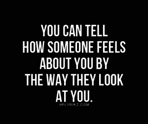 feel, quote, and look image