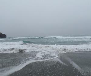 ocean, sea, and grunge image