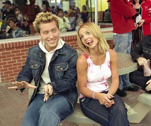 2000, britney spears, and lance bass image