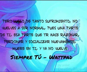 frases, phrases, and sufrimiento image