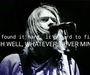 kurt cobain, Lyrics, and nirvana image