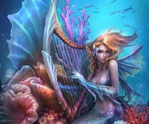 mermaid and fantasy image