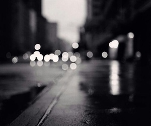 light, street, and black and white image