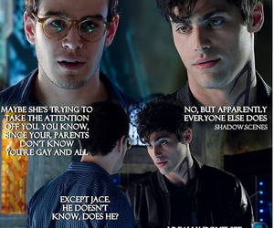 city of glass, alec lightwood, and love advice image