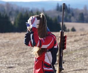 brunette, sport, and norwegian image