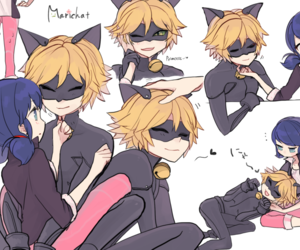miraculous, miraculous ladybug, and Chat Noir image