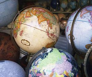 globe, world, and map image