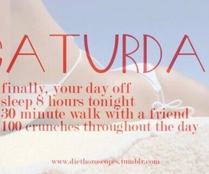 workout, fitness, and saturday image