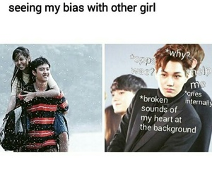 exo, memes, and kpop funny image