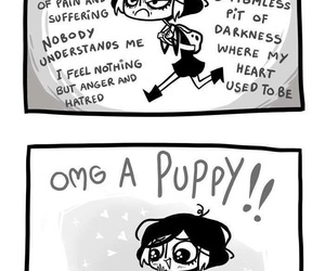 puppy, cute, and funny image