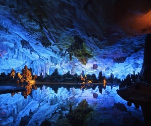 china, guangxi, and reed flute caves image