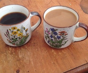 coffee, aesthetic, and cup image